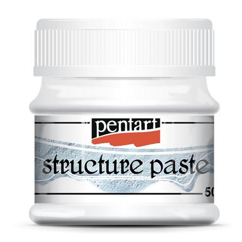 Strukturovací pasta 50 ml BÍLÁ