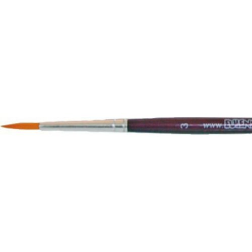 Profesionální štětec - Kulatý purpurový velikost 3