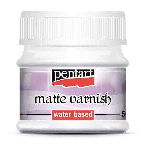 Lak matný na vodní bázi 50 ml