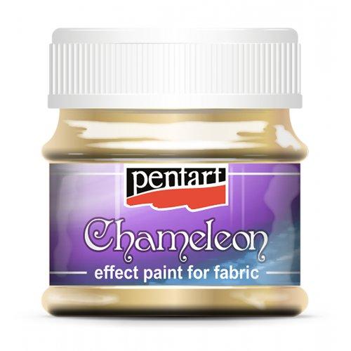 Barva na textil Chameleon 50 ml ZLATÁ