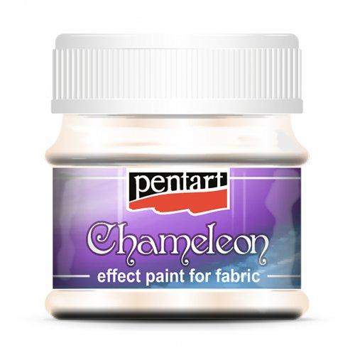 Barva na textil Chameleon 50 ml SVĚTLÁ ZLATÁ