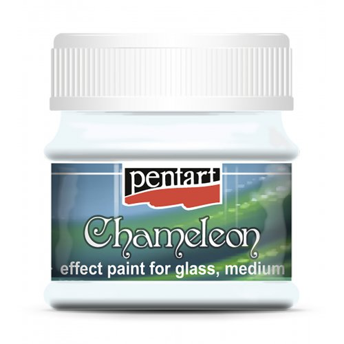 Barva na sklo Chameleon 50 ml MODRÁ