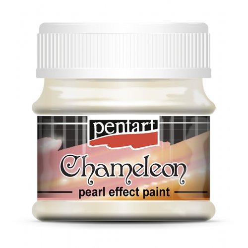 Chameleon perleťová akrylová barva 50 ml ŽLUTÁ-MODRÁ
