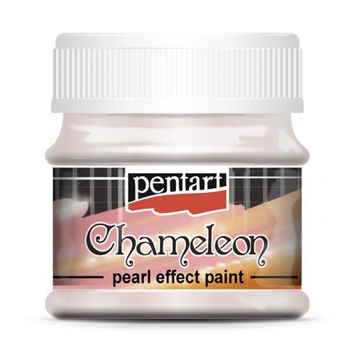 Chameleon perleťová akrylová barva 50 ml RŮŽOVÁ-TYRKYSOVÁ