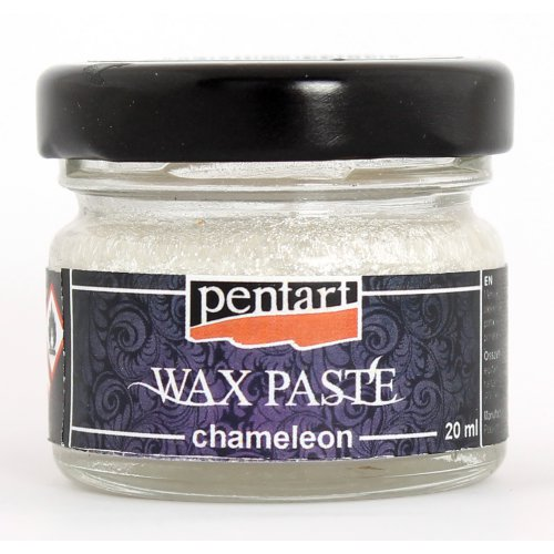 Chameleon vosková pasta 20 ml STŘÍBRNÁ