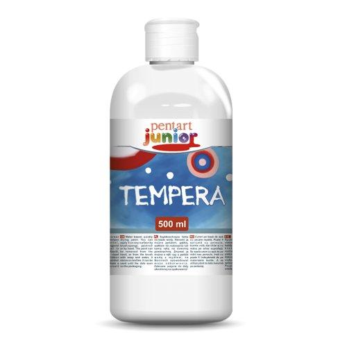 Temperová barva PENTART 500 ml BÍLÁ