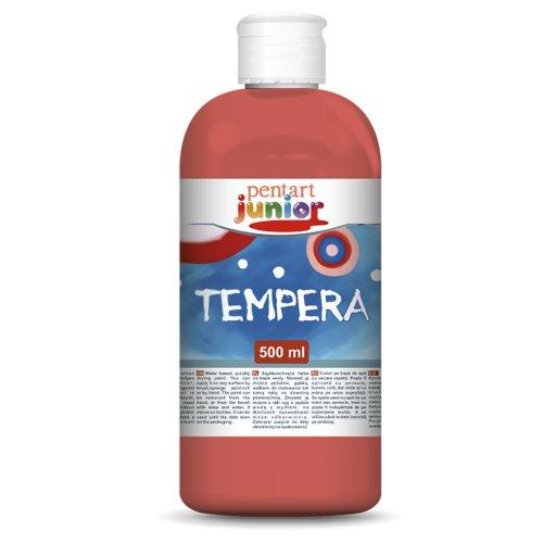 Temperová barva PENTART 500 ml ČERVENÁ