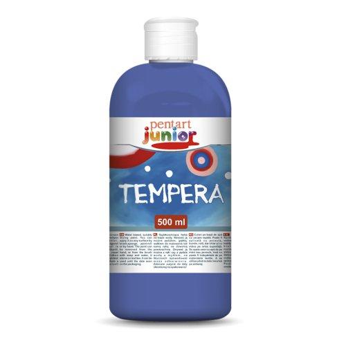 Temperová barva PENTART 500 ml MODRÁ