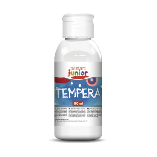 Tempera 100 ml BÍLÁ