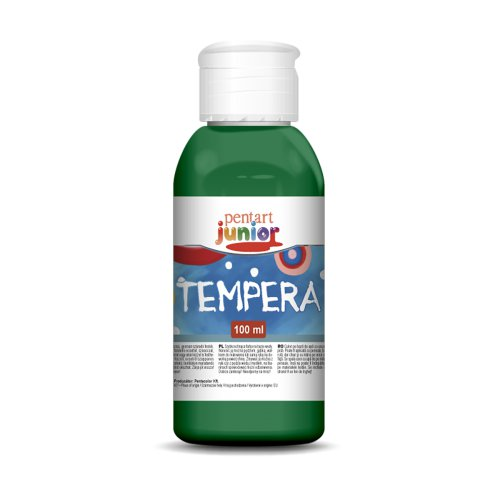 Tempera 100 ml, ZELENÁ