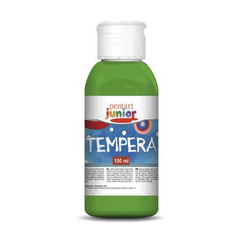 Tempera 100 ml SVĚTLE ZELENÁ