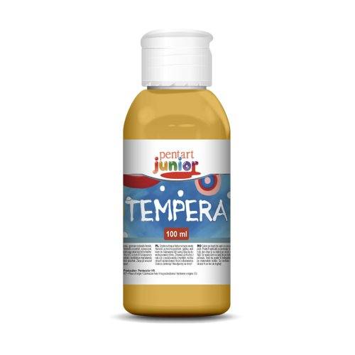 Tempera 100 ml ZLATÁ