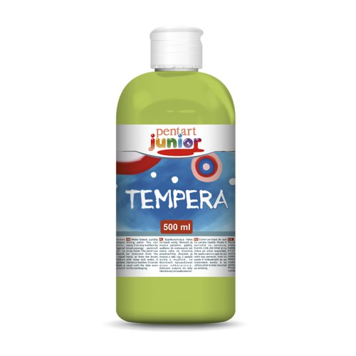 Tempera 500 ml ZELENÁ