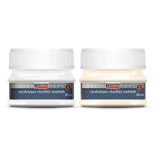 Opaleskní kraklovací lak dvousložkový 25 ml