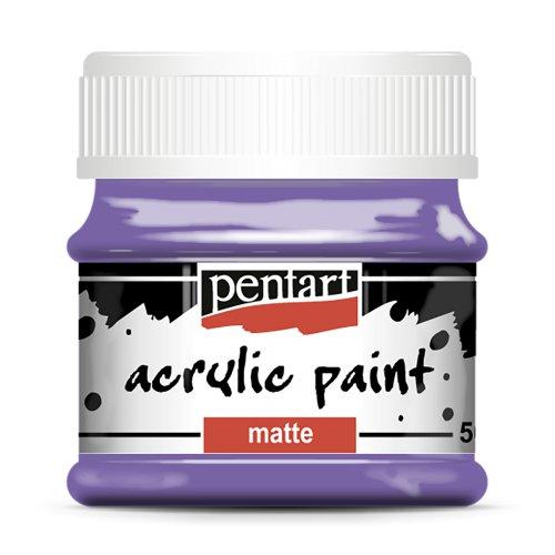 Akrylová barva matná 50 ml FIALOVÁ