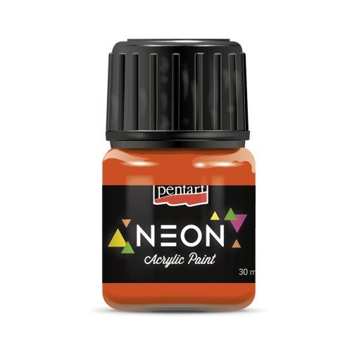 Akrylová barva neonová 30 ml ORANŽOVÁ