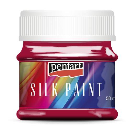 Barva na hedvábí 50 ml KARMÍNOVÁ