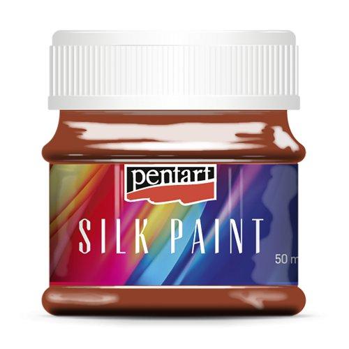 Barva na hedvábí 50 ml TERAKOTA