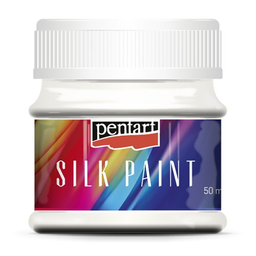 Barva na hedvábí 50 ml BÍLÁ