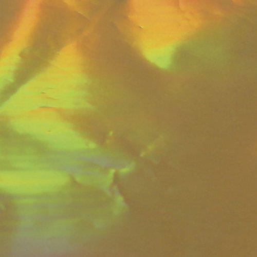Dekorační fólie holografická 14 x 14 cm ZLATÁ - PE20748_01.jpg