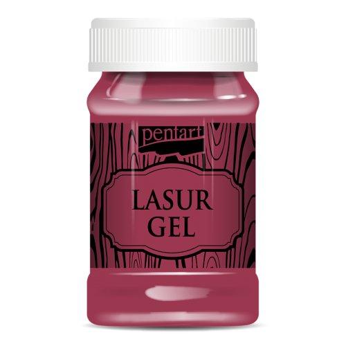 Lazurový gel 100 ml ČERVENÁ