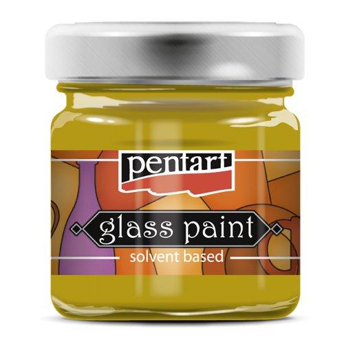 Barva na sklo vitrážová PENTART 30 ml ZLATÁ