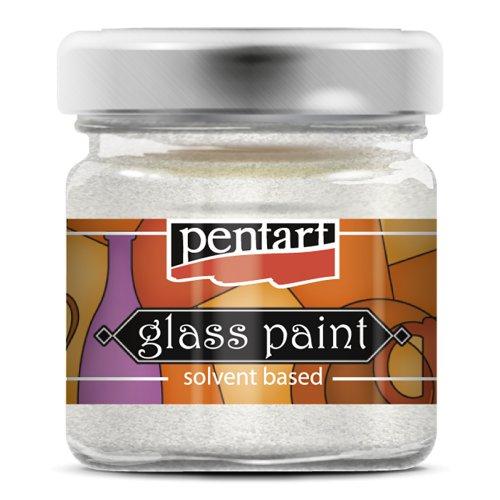 Barva na sklo vitrážová PENTART 30 ml TŘPYTIVÁ DUHOVÁ