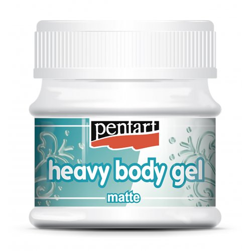 Heavy body gel matný 50 ml