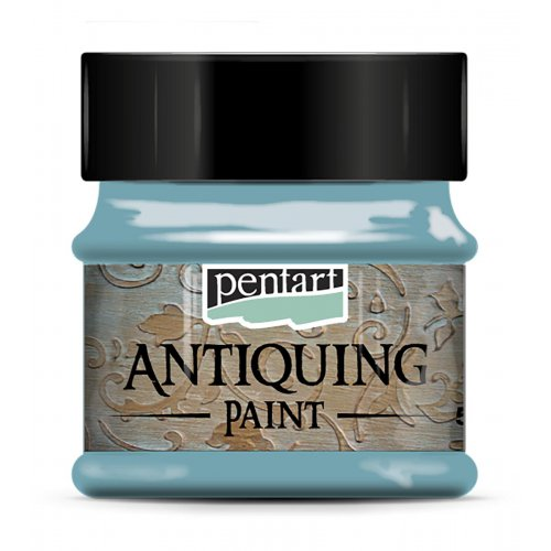 Antikovací barva 50 ml PATINA MODRÁ