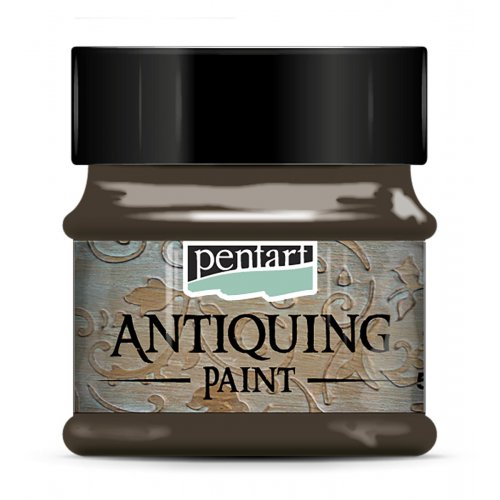 Antikovací barva 50 ml TMAVĚ HNĚDÁ