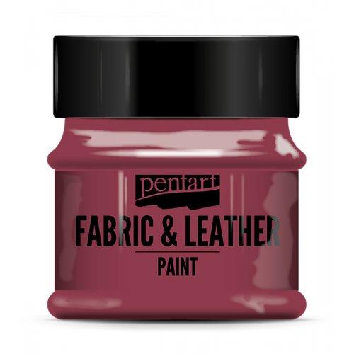 Barva na kůži a textil 50 ml BORDÓ