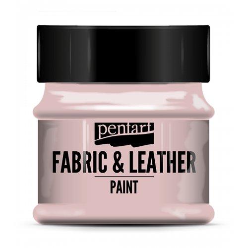 Barva na kůži a textil 50 ml  RŮŽOVÁ RŮŽE