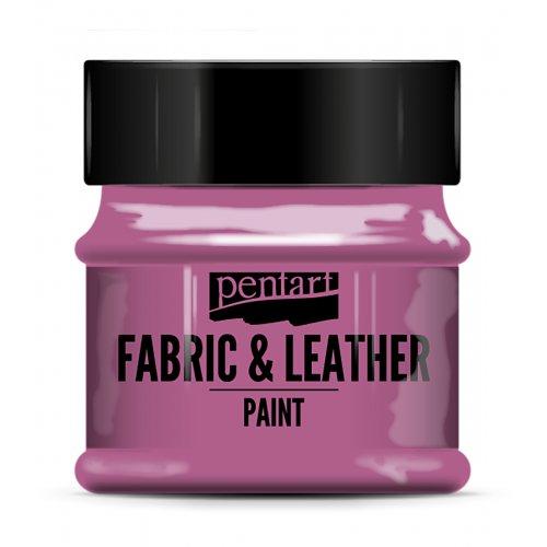 Barva na kůži a textil 50 ml MAGENTA