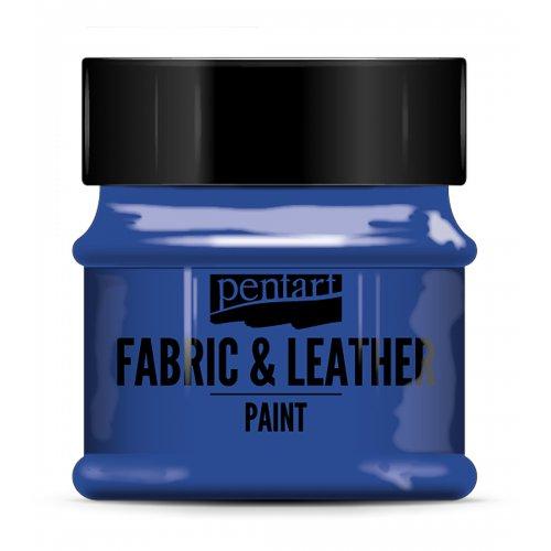 Barva na kůži a textil 50 ml MODRÁ