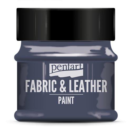 Barva na kůži a textil 50 ml DENIM MODRÁ