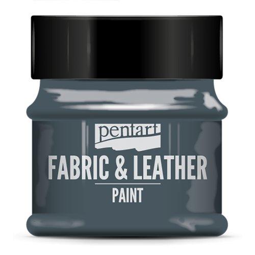 Barva na kůži a textil 50 ml  POISON ZELENÁ