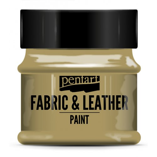 Barva na kůži a textil třpytivá 50 ml ZLATÁ