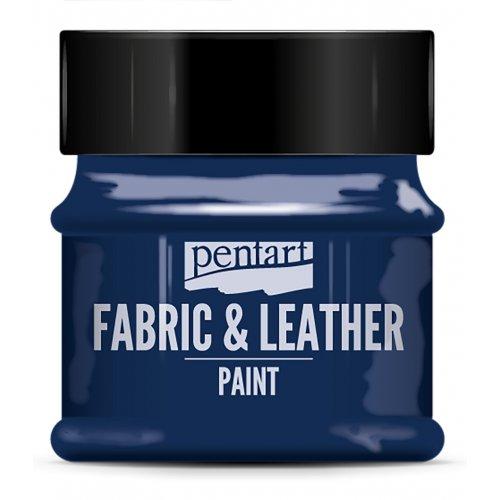 Barva na kůži a textil třpytivá 50 ml MODRÁ