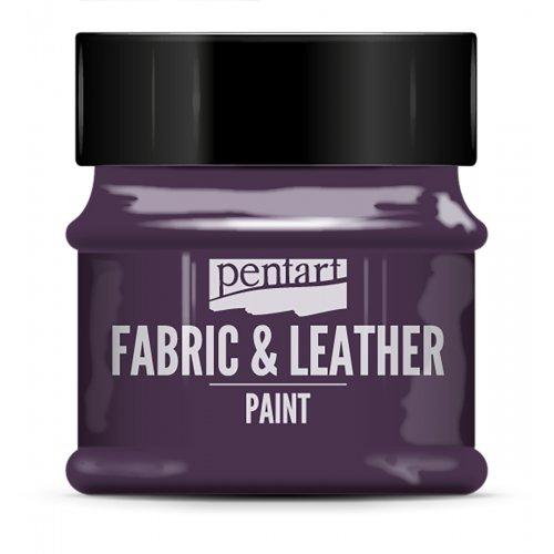 Barva na kůži a textil třpytivá 50 ml PURPUROVÁ