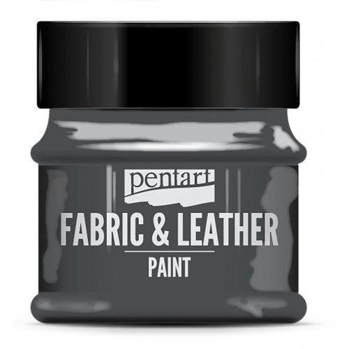 Barva na kůži a textil třpytivá 50 ml GRAFITOVÁ