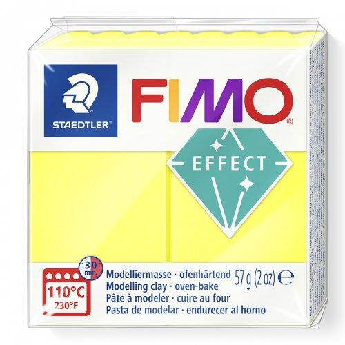 FIMO NEON efekt 57g ŽLUTÁ