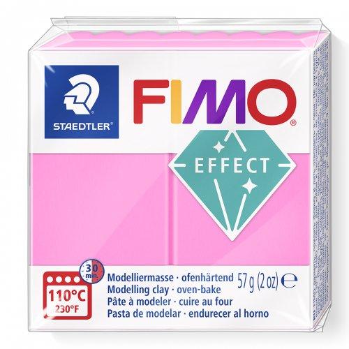 FIMO NEON efekt 57g RŮŽOVÁ