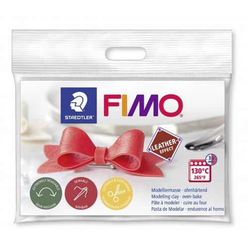 FIMO Leather mašlička - DÁREK