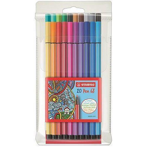 """Fixy """"Pen 68"""", 20 barev, 1mm, STABILO"""