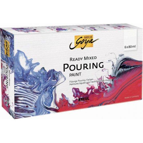 Sada Pouring fluid SOLO GOYA 6 barev