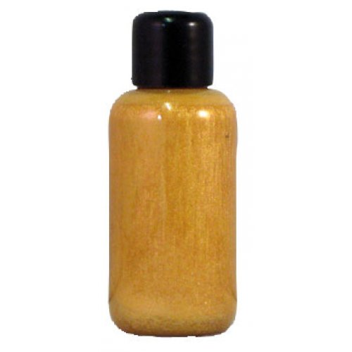 Tekutá barva na obličej 30 ml - Perleťově-zlatá