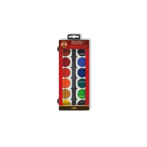 Sada barvy vodové KOH-I-NOOR 30 12 umělecké krycí