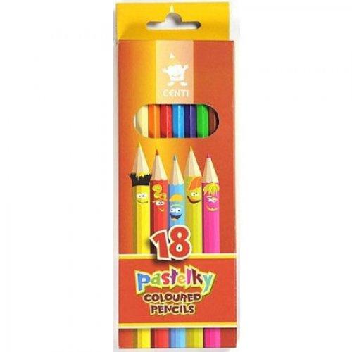 Pastelky KOH-I-NOOR 18 barev CENTI