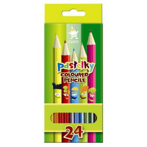 Pastelky KOH-I-NOOR 24 barev CENTI