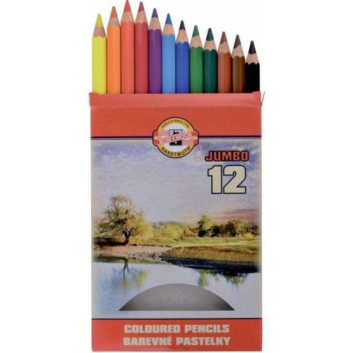 Sada pastelek KOH-I-NOOR OK krajina 12 odstínů